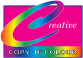 creative copy n colour logo
